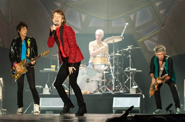 Ronnie Wood, Mick Jagger, Charlie Watts, Keith Richards