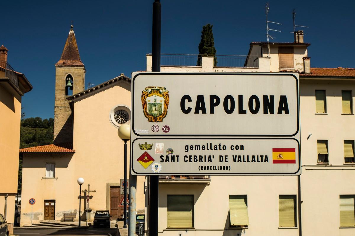 Le Vallate di Arezzo: Il Casentino, Capolona